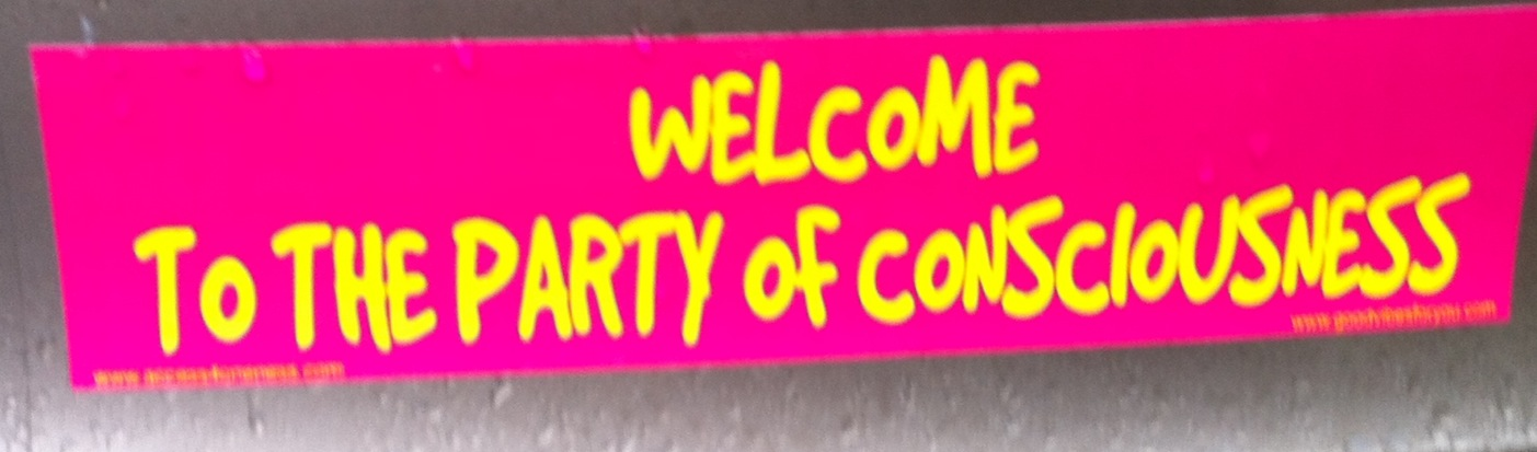 Bumpersticker Party of Consciousness