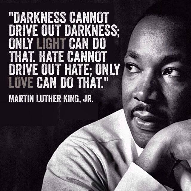 mlk quote on hate and love