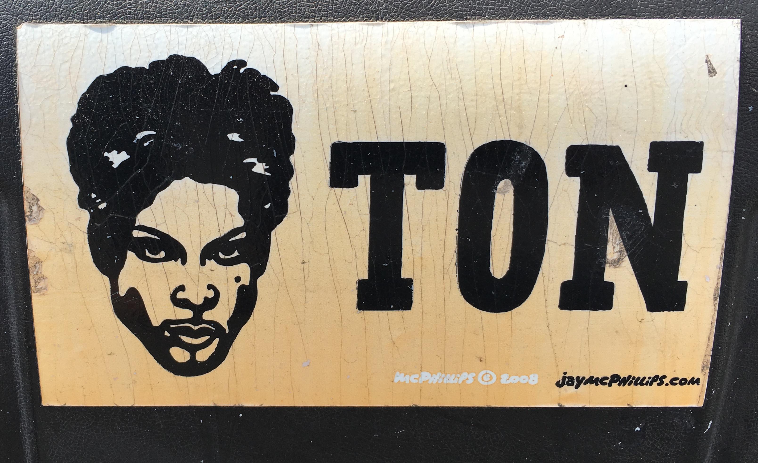 Bumper Sticker Prince-ton