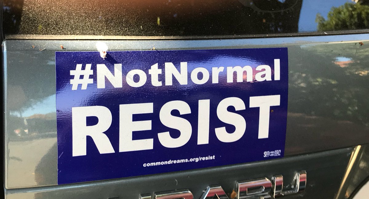 Resist Not Normal