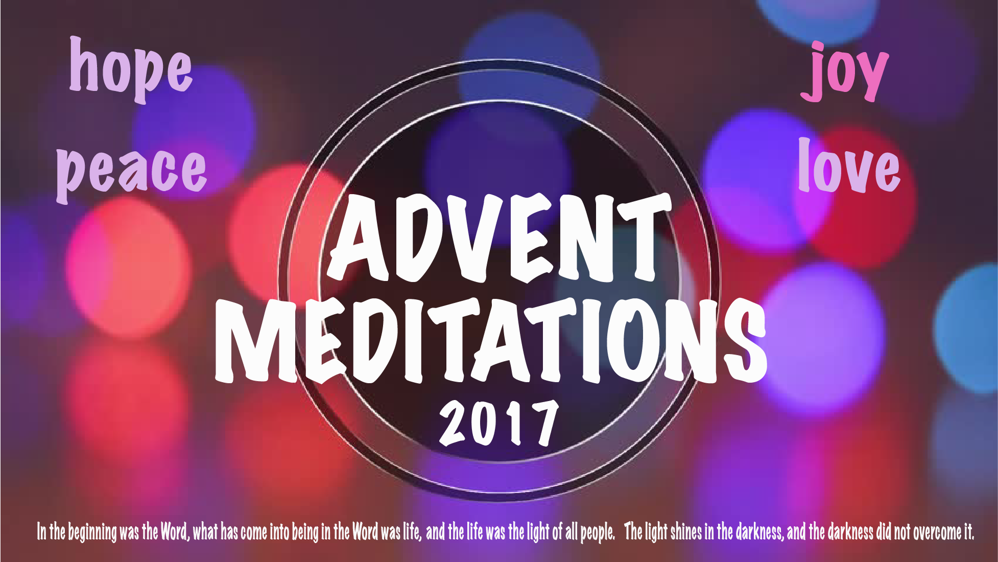 Advent Circle Meditations
