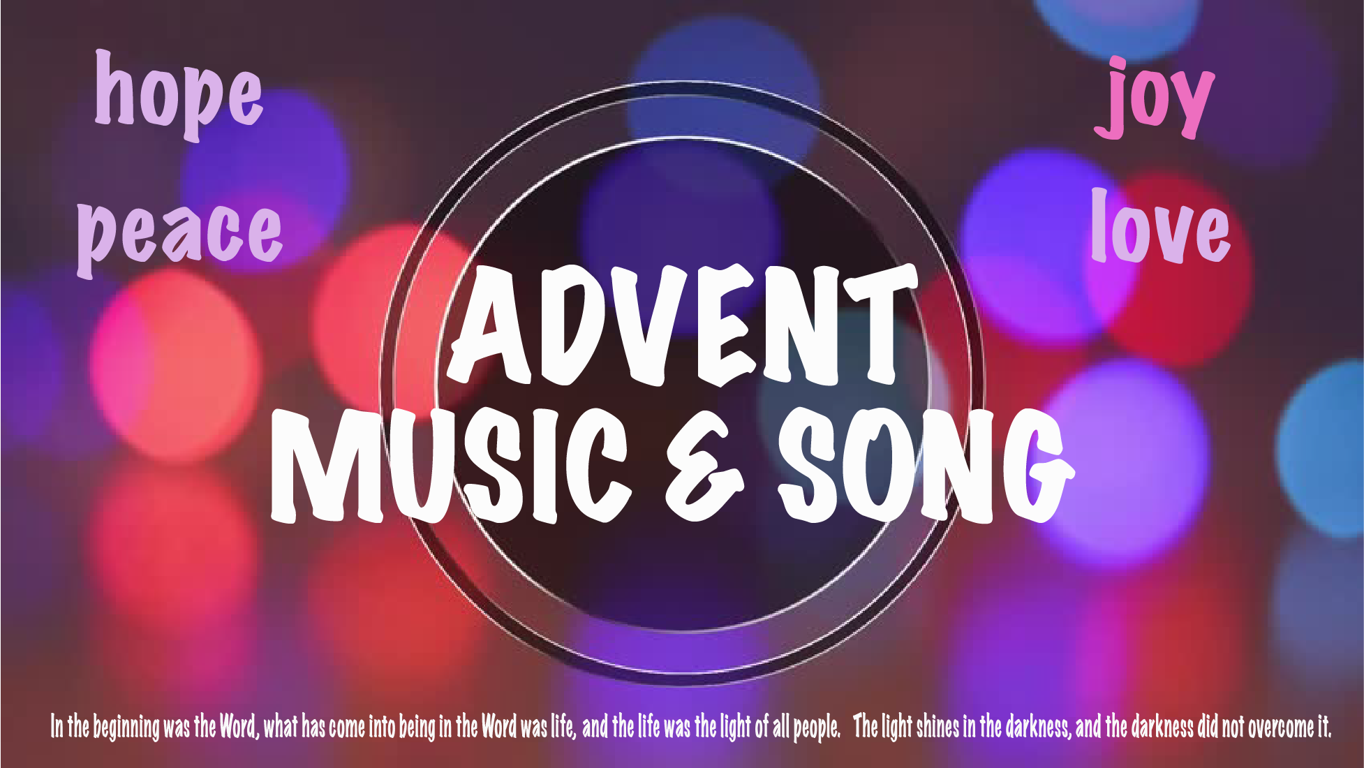 Advent Circle Music